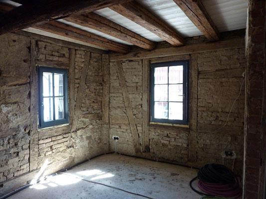 Sanierung Renovierung - Fachwerkhaus entkernen