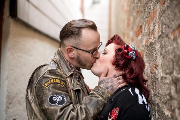 Pfaffenhofen Fotoshooting Vintage SOB Coupleshoot Rockabella