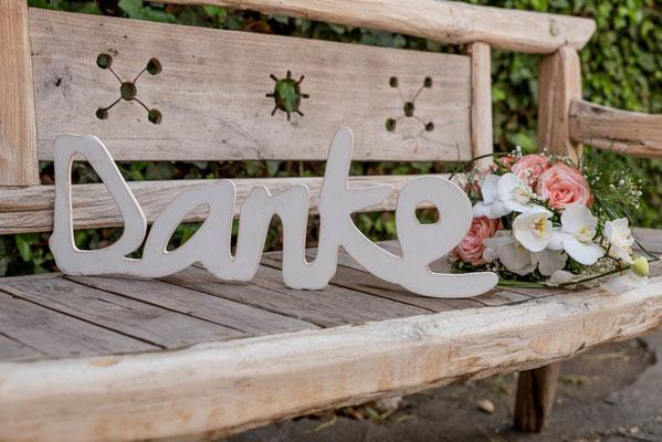 Ammersee Hochzeit Apricot Deko
