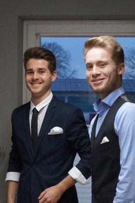 Christoph und Maxi Fischbacher