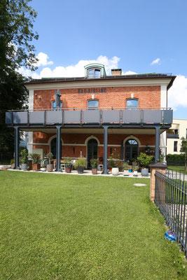 Historischer Bahnhof nach der Sanierung