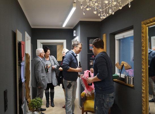 S. Fischbacher Living - Eröffnungsfeier