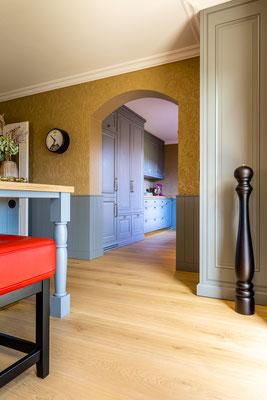 Schlossdielen Eiche Select, Farbton ClearWhite