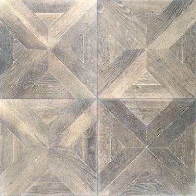 Tafelparkett DECO 2 Antikgrau01, 600 x 600 mm
