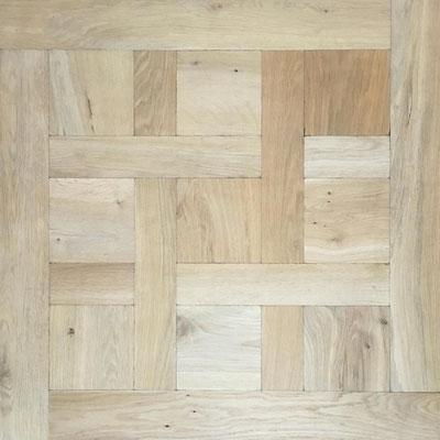 Tafelparkett Chantily Eiche Rustic mit Antikbearbeitung 800 x 800 mm
