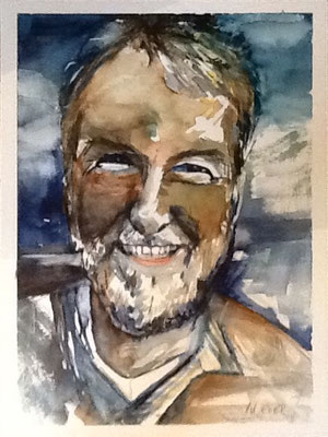 Christian, Aquarell