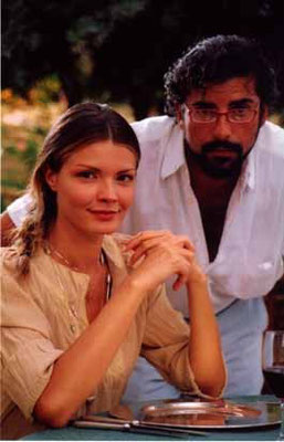 Enzo Rapisarda con Alessandra Meloni