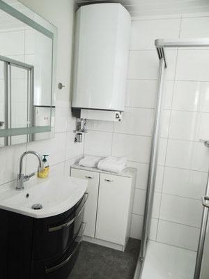 Badezimmer für 1 Person im Kleiner Markt Heppenheim.