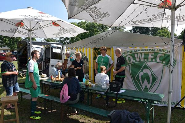 Werder Fanclub-Meisterschaft 2019 / Wir sind eingerichtet!