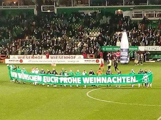 Mit 6 Stars am 16.12.2016 nach Bremen gegen Köln - VIP Rang Platin / Bild 6