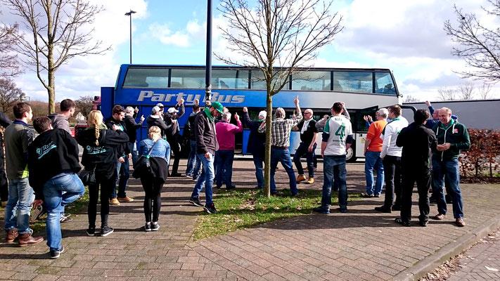 Mit dem Partybus nach Leverkusen / 10. März 2017 / Bild 1