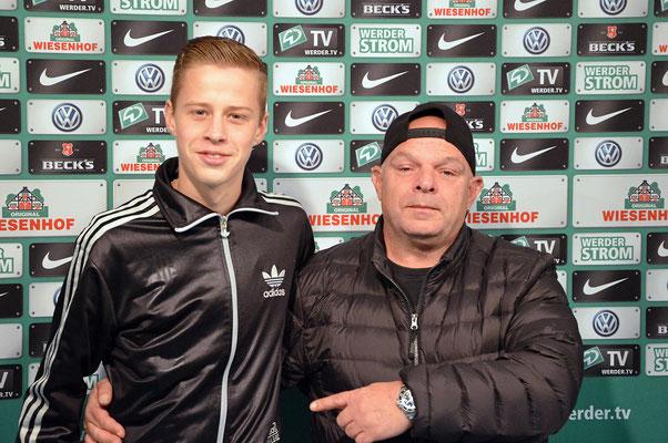 Stadionführung mit Dr. Hubert Hess-Grunewald 12.10.2016 / Bild 17