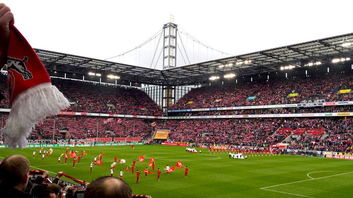 Fahrt nach Köln 2014