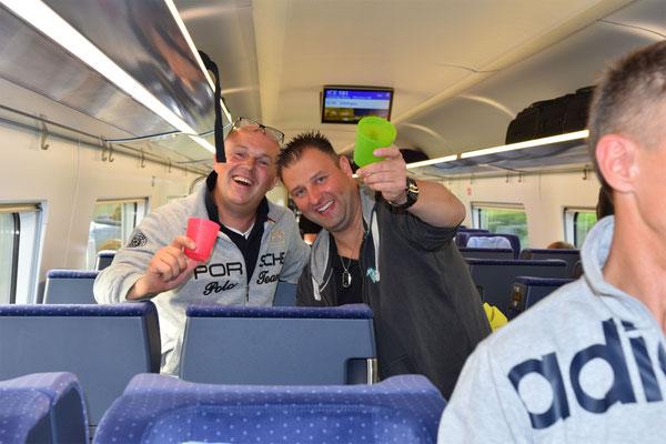 Cup-Verteidigung München 2017 - Die Hinfahrt / 09.06.17