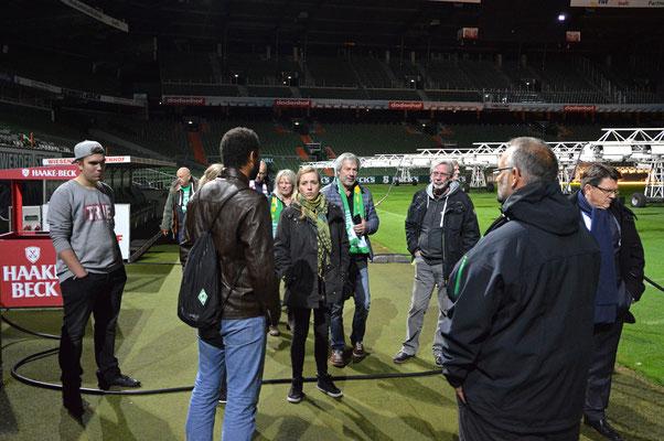 Stadionführung mit Dr. Hubert Hess-Grunewald 12.10.2016 / Bild 13
