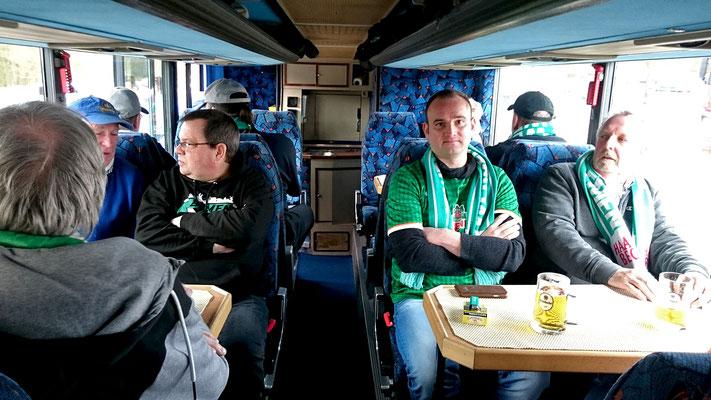 Mit dem Partybus nach Leverkusen / 10. März 2017 / Bild 5