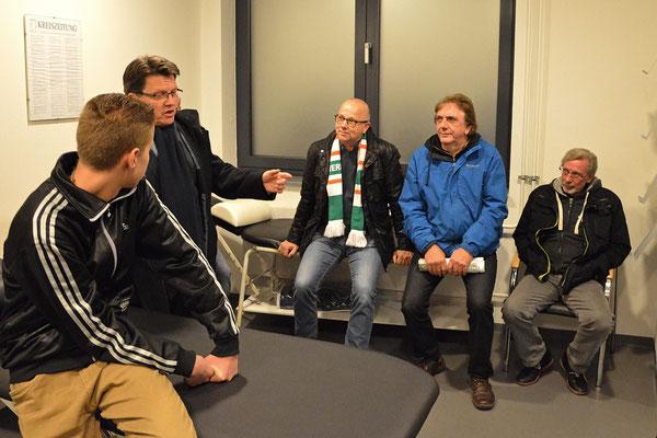 Stadionführung mit Dr. Hubert Hess-Grunewald 12.10.2016 / Bild 9