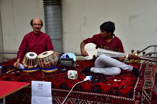 Musiker des Ali Akbar College of Music Switzerland