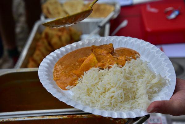 Indische Menüs vom Restaurant Mandir