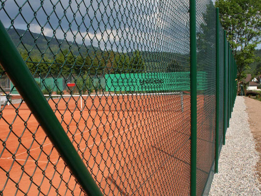 Maschendrahtzaun Tennis