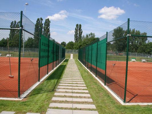 Zaunanlage Tennis
