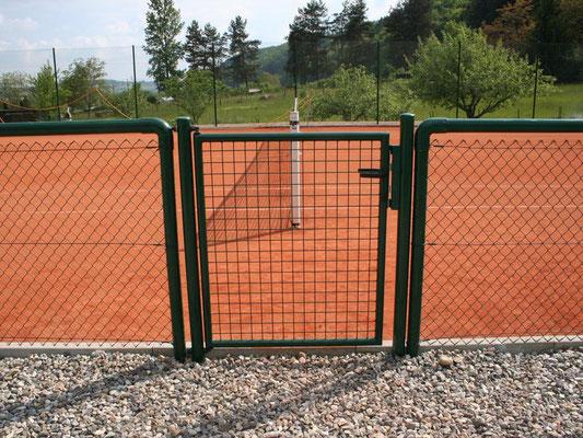 Zauntüre Tennis