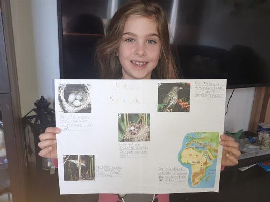 Bravo Celina! Das Plakat ist sehr gut strukturiert und gegliedert!