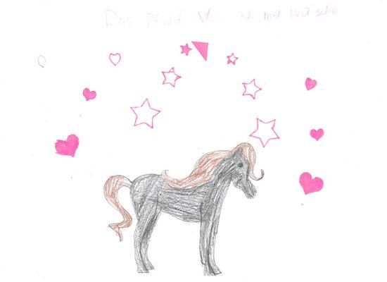 Amelie wünscht sich ein zauberhaftes Pferd! ;-)