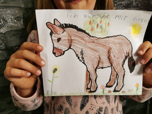 Fee wünscht sich einen Esel.