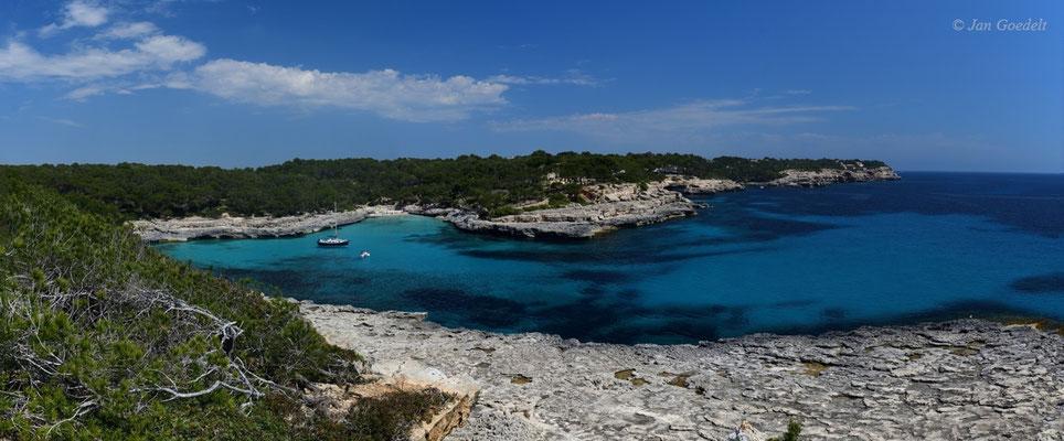 Bucht im Naturpark Mandrago, Mallorca