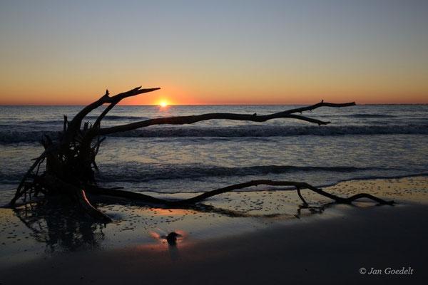 Sonnenuntergang in Fort Myers Beach, Florida