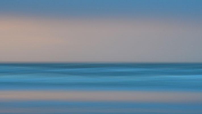 Wischerwellen an der Nordsee