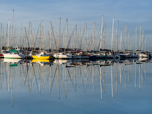 Ireland - Mirror, Howth Harbour (2016)