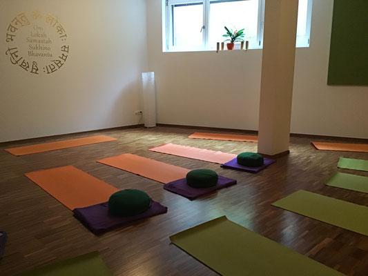 Studio perfekt geeignet für Yoga, Pilates, QiGong etc