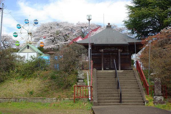 紫雲山千手院観音堂と千手山公園:鹿沼市