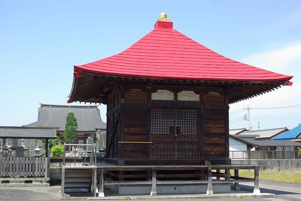 医王山玉塔院の薬師堂:栃木市