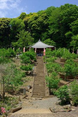 金滝山清水寺観音堂:栃木市