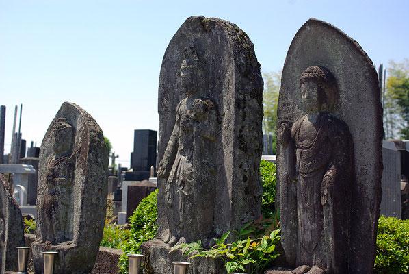 医王山興生寺の石仏:壬生町