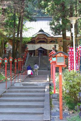 出流山満願寺本堂(大御堂):栃木市