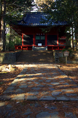日光二荒山神社の別宮・本宮神社の拝殿