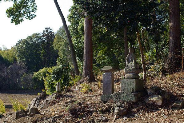 伊吹山善応寺の石仏:栃木市