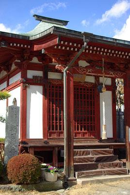 神護山光明寺の観音堂:宇都宮市
