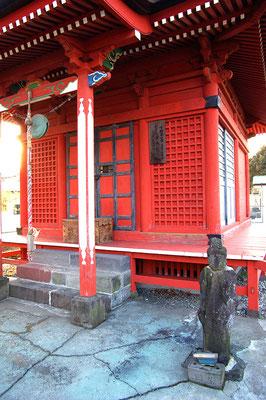 星顕山如来寺の観音堂:日光市