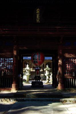 与楽山観音寺(寺山観音寺)楼門:矢板市
