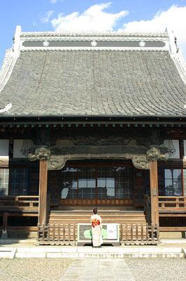 三級山近龍寺本堂:栃木市