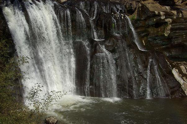 龍門の滝:那須烏山市