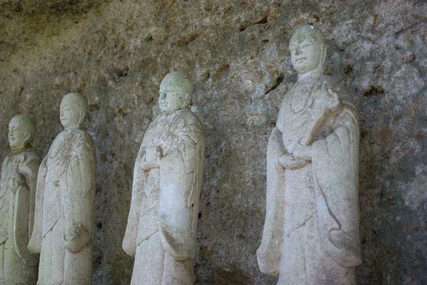 普門山蓮華寺(岩本観音)の六地蔵:宇都宮市