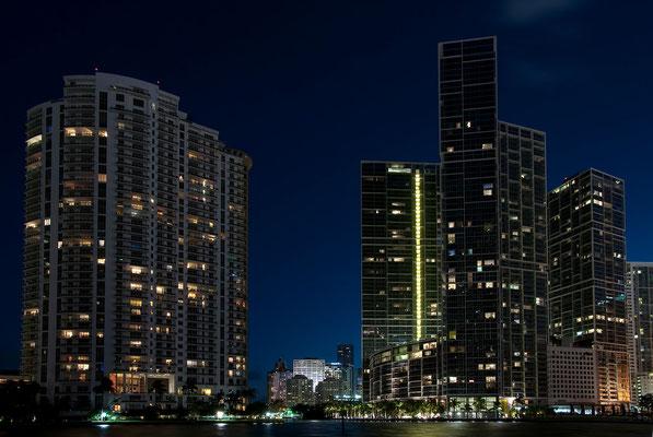 Mouth of Miami River in Downtown Miami
