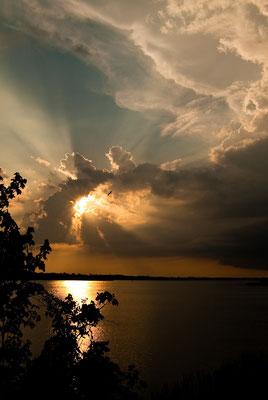 John Chestnut Observation Tower Sunset