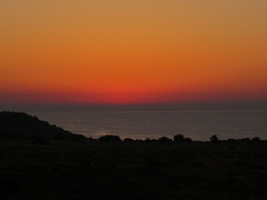 Sunrise over the Aegean Sea
